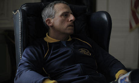 "Steve Carell stars in the delayed ""Foxcatcher."""
