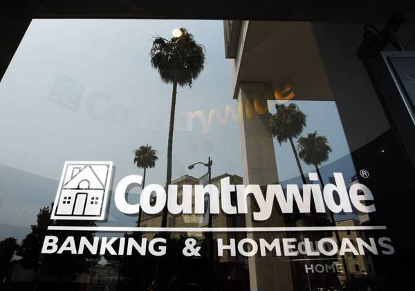 A Countrywide office in Beverly Hills in 2008. Bank of America bought the mortgage lender that year during the height of the housing crisis.