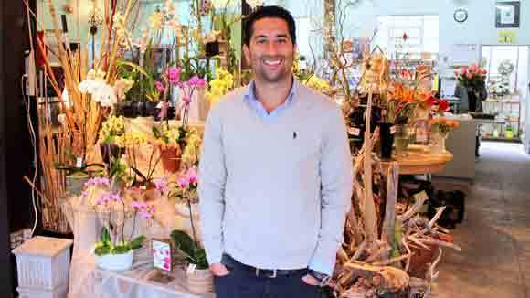 BloomNation co-founder and Chief Executive Farbod Shoraka