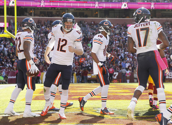 The future direction of the Bears may hinge on how well Josh McCown plays while Jay Cutler is out.