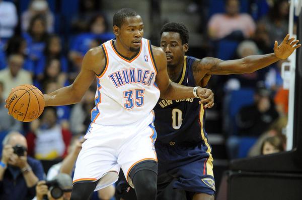 Thunder star Kevin Durant is a big fan of Bulls coach Tom Thibodeau.