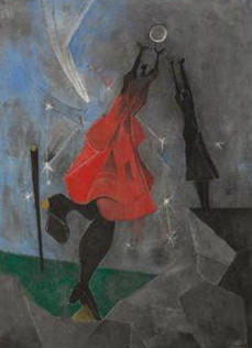 "The Cleveland Museum of Art is selling Rufino Tamayo's painting ""Women Reaching for the Moon"" at a Chrisitie's auction in November."
