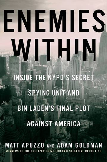 "The cover of the book, ""Enemies Within."""