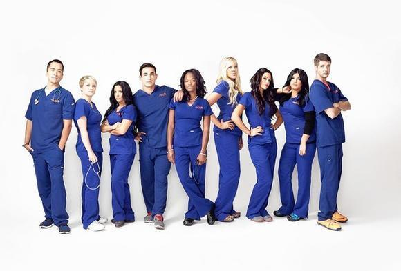 """Scrubbing In,"" a reality show about nine nurses from various parts of the country who worked in Orange County over the summer, premieres Thursday on MTV."