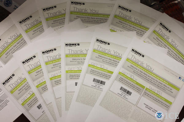 Boi Quoc Vo, 30, of Anaheim admitted under a plea agreement that he made tens of thousands of fake Kohl's coupons and sold them online.