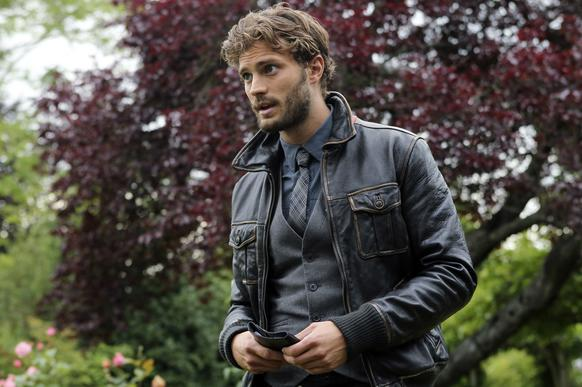 "Jamie Dornan scored his first major TV role as the Huntsman on ABC's ""Once Upon a Time."""