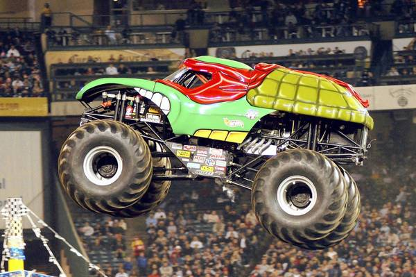 The legendary monster truck Grave Digger will be part of the fun when Monster Jam returns on Jan. 25 to the Florida Citrus Bowl.