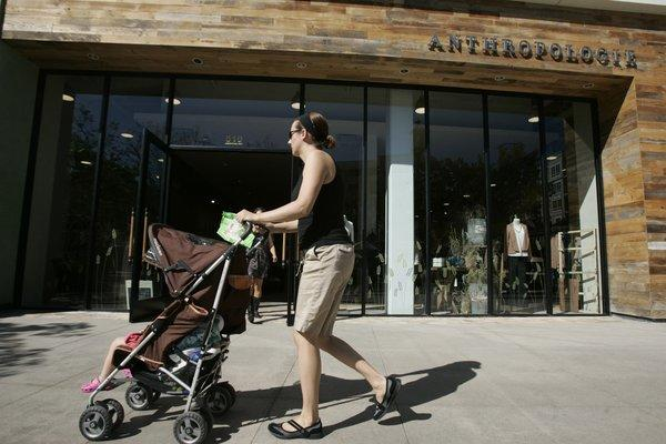 The Anthrpologie store at the Americana at Brand in Glendale. The retailer issued a statement Thursday after a social media campaign against supplier Cody Foster.