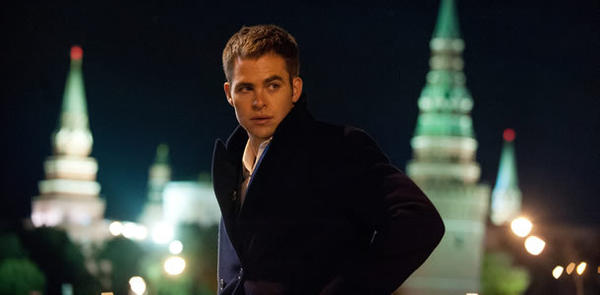 """Jack Ryan: Shadow Recruit"" starring Chris Pine, originally slated for a Christmas Day release, will open on Jan. 17, 2014."
