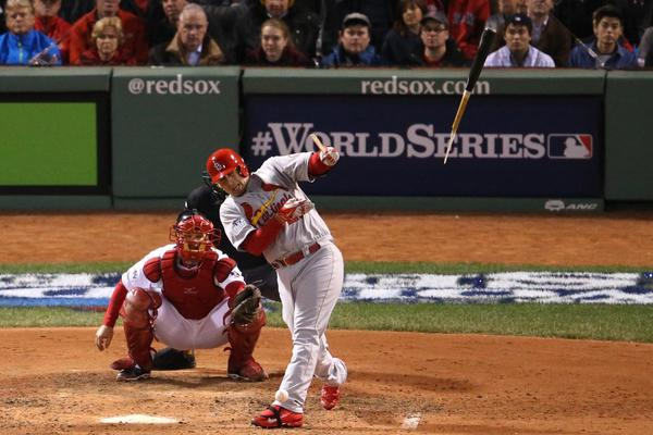 World Series Game 1: St. Louis at Boston