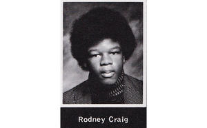Rodney Paul Craig, 1975 yearbook photo