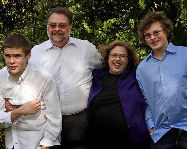 The Roykos, from left: Ben, David, Karen and Jake. Treating Ben's severe autism bankrupted his family.