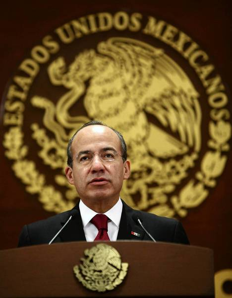 Former Mexican President Felipe Calderon condemned Washington's alleged hacking of his email account; today he lives and works in the U.S.