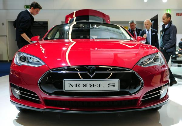 Tesla's Model S. The company has hired Doug Field from Apple.
