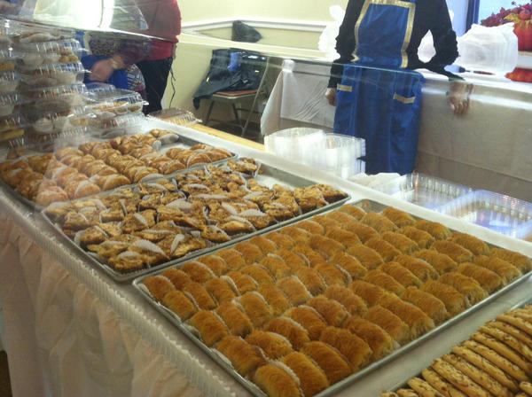 Patrons of the Newport News Greek Festival can try traditional pastries and other Greek foods at the event, which runs through Saturday at Saints Constantine and Helen Greek Orthodox Church.