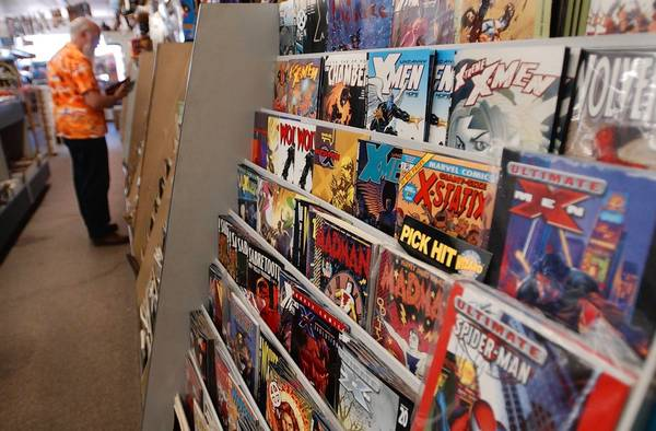 For Halloween ComicFest on Saturday, Oct. 26, 2013, patrons will be able to get a free comic book at participating comic book stores.