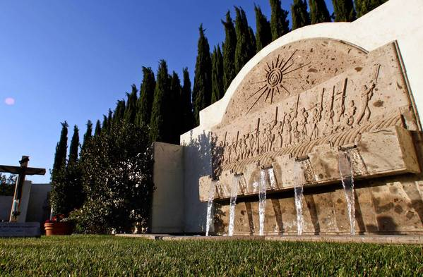 The Cesar E. Chavez National Monument at Nuestra Señora Reina de la Paz in Keene, Calif. -- which served as the United Farm Workers headquarters and now is Chavez's burial site -- would be part of the national historic park.