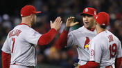 Cardinals Top Red Sox 4-2, Tie World Series 1-1
