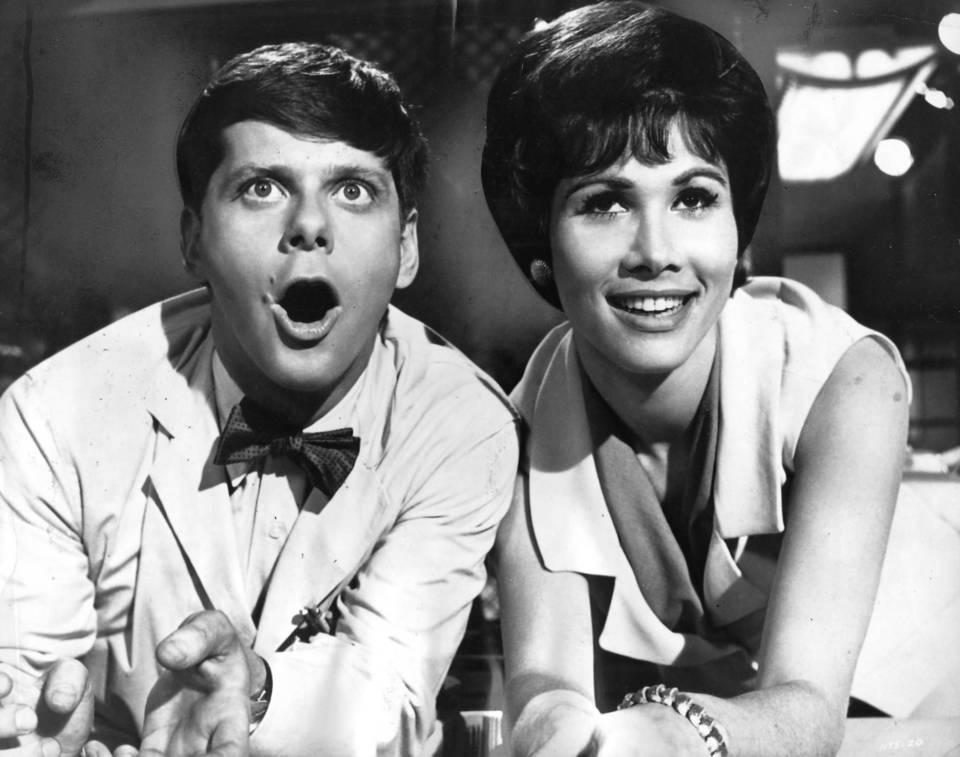 """Robert Morse and Michele Lee starred in """"How to Succeed in Business Without Really Trying.""""  Bob Fosse choreographed."""
