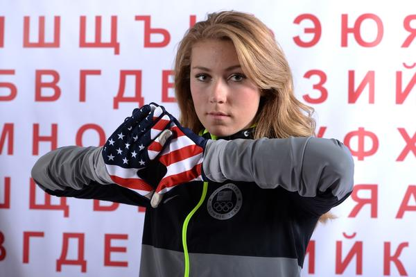 U.S. skier Mikaela Shiffrin has reportedly beaten some members of the men's team while training for this weekend's season opener for the World Cup circuit.
