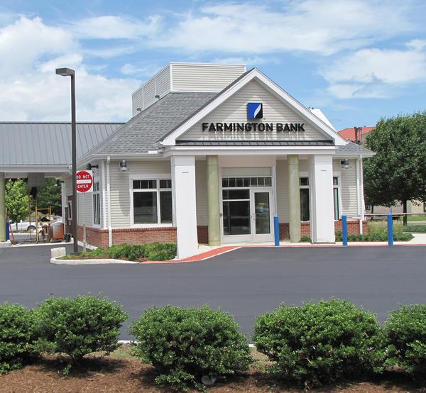 Farmington Bank's East Hartford branch, located at 957 Main St.