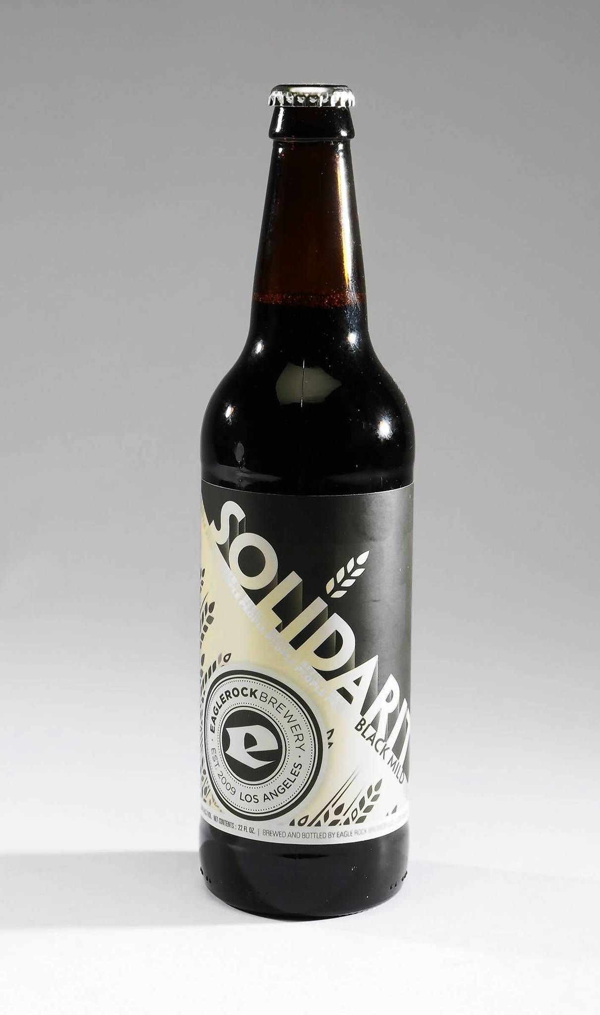 Eagle Rock Breweryx{2019}s Solidarity Black Mild Ale.