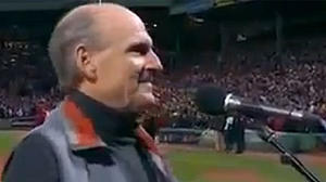 Watch James Taylor mess up national anthem before World Series Game 2