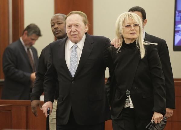 Sheldon and Miriam Adelson thought they could make secret campaign contributions, but they were wrong.