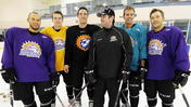 Solar Bears coach reunites with players from his former team