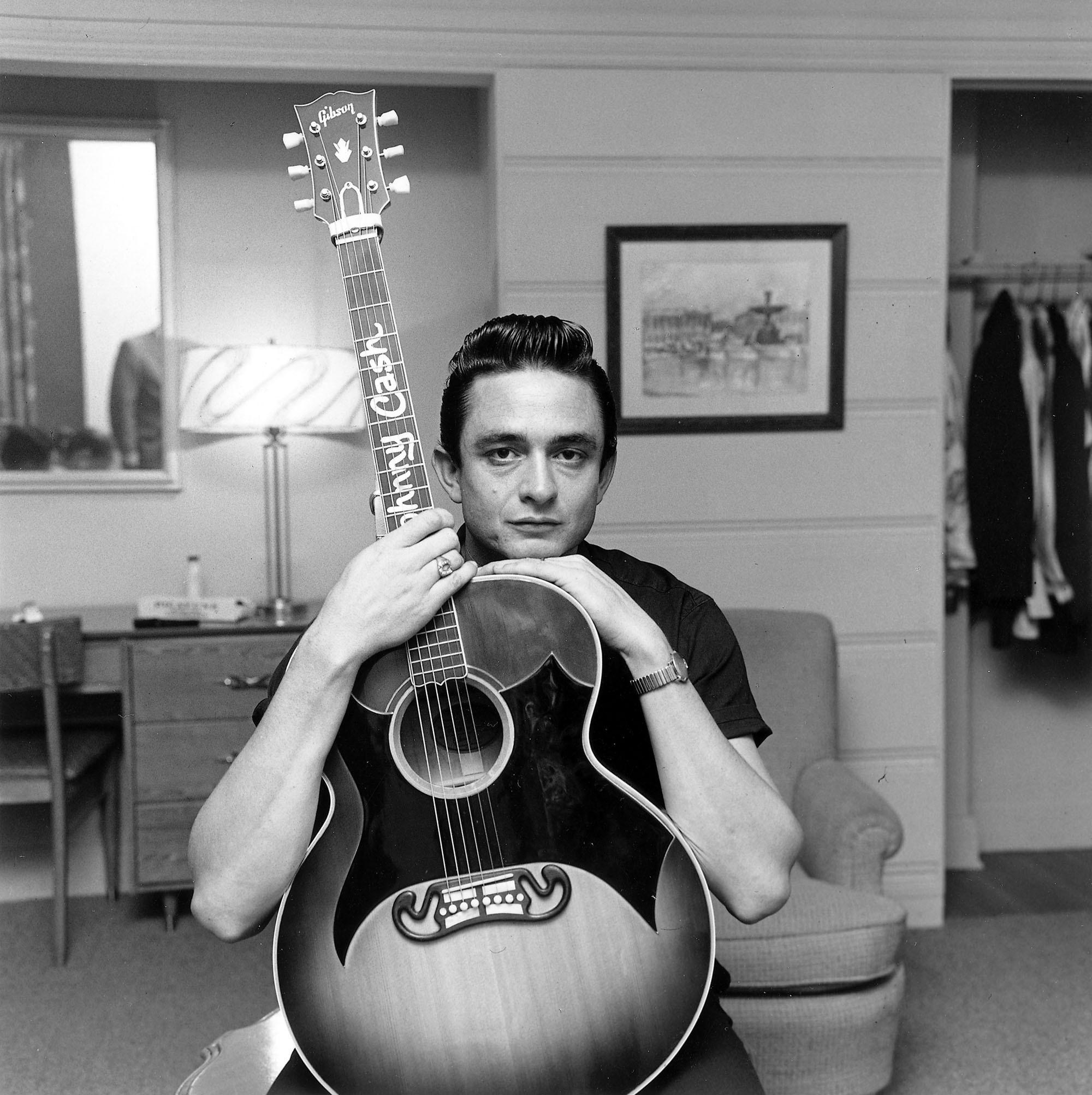 "Johnny Cash's children say their father ""was a man whose heart beat with the rhythm of love and social justice."" (Sony Music)"
