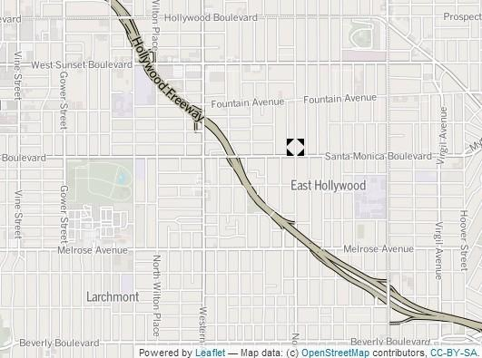 Approximate location of incident.