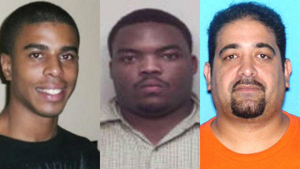 Cedric Telasco, 21, (left) was shot and killed by Lauderhill police in March 2011. Hugh Smith, 37, (center) was shot and killed by Broward sheriff's deputies in November 2010. Alejandro Figueroa, 37, (right) was shot and killed by Pembroke Pines police in September 2008.