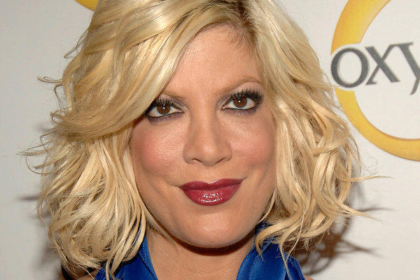 So Tori Spelling rents instead of owns — this is L.A., right?