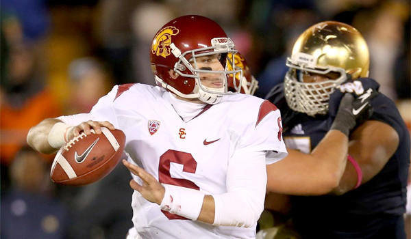 USC quarterback Cody Kessler has thrown for 1,330 yards and eight touchdowns with five interceptions this season for the Trojans.
