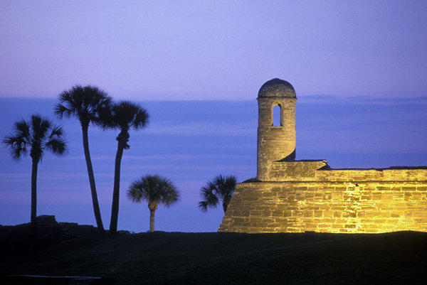 The Castillo de San Marcos in St. Augustine, Fla., is among the stops next spring on Smithsonian Journeys' Florida cruise.