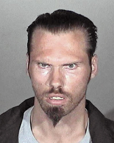 Adam Cartwright was arrested on suspicion of failing to register as sex offender.