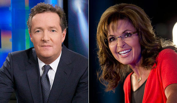 Piers Morgan and Sarah Palin are having an online feud.