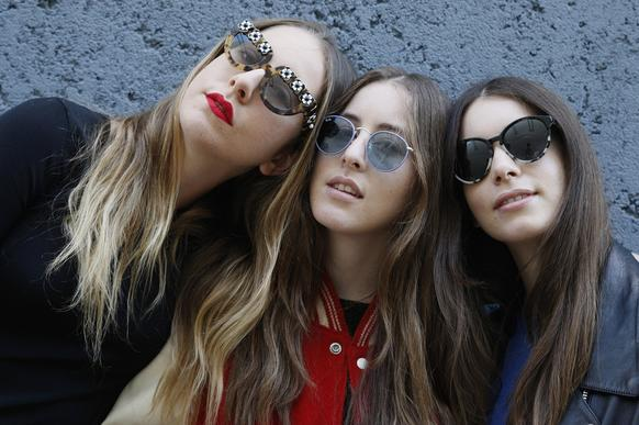 Meet Este, from left, Alana and Danielle of the L.A. group Haim. The three sisters with the long locks and voice chops give off a slinky pop vibe with splashes of rock and '90s R&B. Drummer Dash Hutton, formerly with Los Angeles bands Wires on Fire and Slang Chicken, also plays with the band. <br><br>