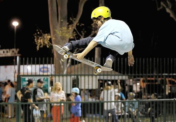 The chairman of the Costa Mesa Parks and Recreation Commission has called for safety rules at Volcom Skate Park to be enforced.