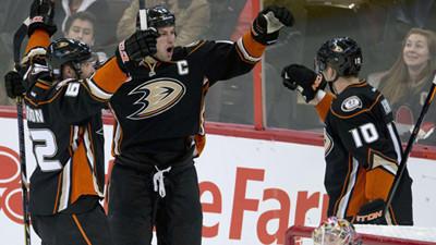Ducks Defeat Senators, 2-1, For First Win On Trip