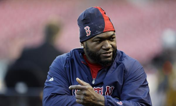 Boston designated hitter David Ortiz will make the move back to first base when the Red Sox play Game 3 of the World Series on Saturday in St. Louis.