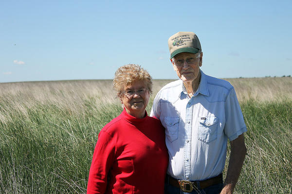 Roylene, left, and Vern Schwab are among a number of Brown County residents who have enrolled land in CREP.