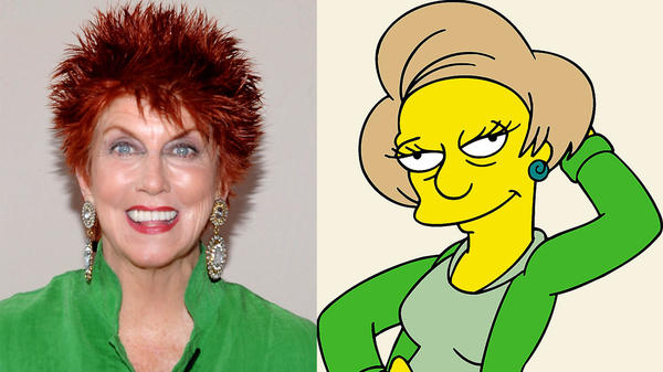 "Marcia Wallace, voice of ""The Simpsons"" character Edna Krabappel died October 26, 2013."