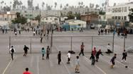 Plan to transform bleak school playground hits a big snag