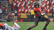 Injuries force Terps to overhaul receiving corps