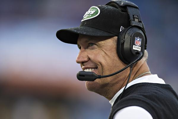Coach Rex Ryan has the New York Jets at 4-3 after last year's 6-10 effort.