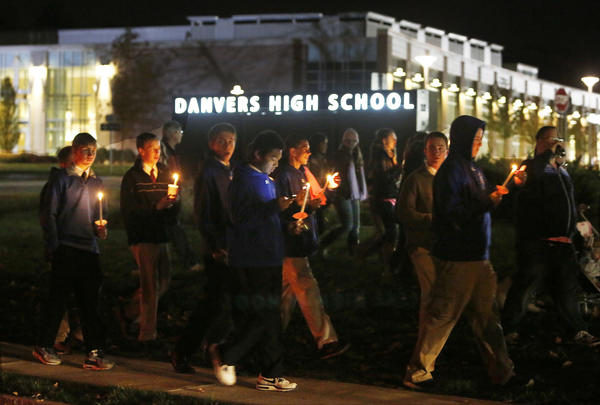 Danvers High School students have been mourning the death of teacher Colleen Ritzer this week.