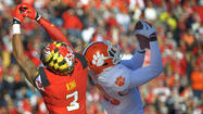 Injury-depleted Maryland falls apart late in 40-27 loss to No. 9 Clemson