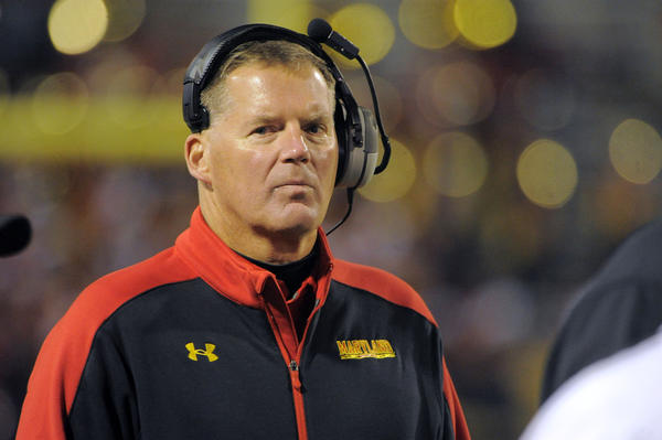 Maryland coach Randy Edsall has been the victim of bad luck the past two seasons.