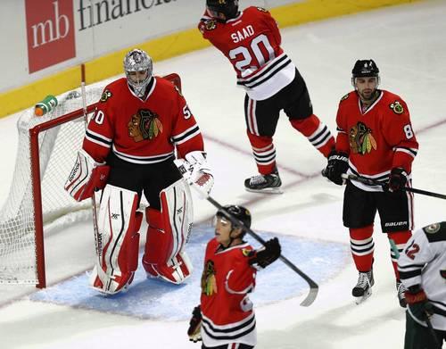 Minnesota Wild Goalie Too Tough For Chicago Blackhawks To Solve In 5-3 Setback